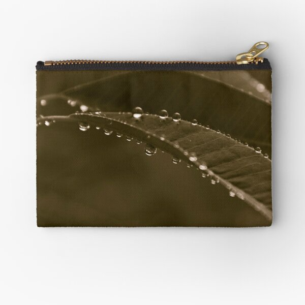 Grey Day Zipper Pouch