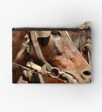 Hard working desert horse Studio Pouch