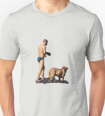 A man and his dog Unisex T-Shirt