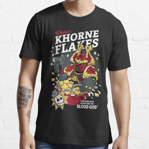 Chaos Khorne Flakes Essential Essential T-Shirt