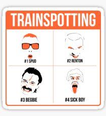 Trainspotting Sticker