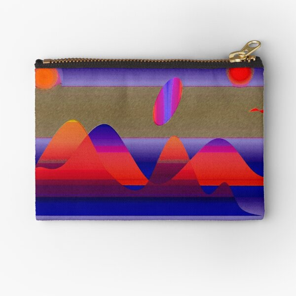 The Y planet revisited Zipper Pouch