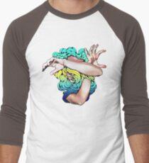 Wallflower (Social Disease Original) Men's Baseball ¾ T-Shirt