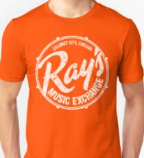 Ray's Music Exchange - White T-Shirt