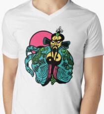 J B Mens V-Neck T-Shirt