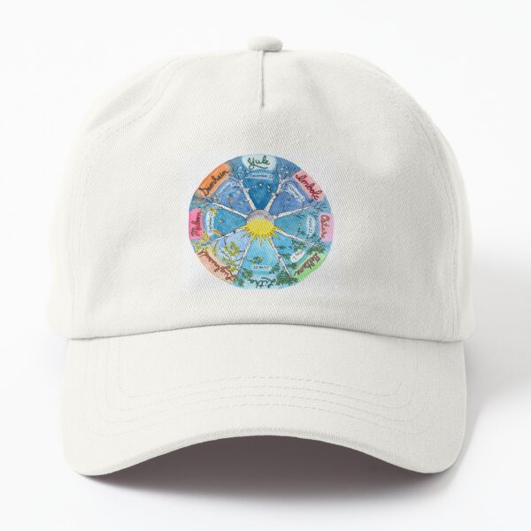 Celtic Wheel of the Year Dad Hat