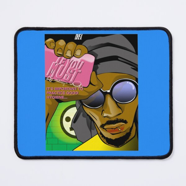 Del The Funky Homosapien Del...If You Must  Mouse Pad