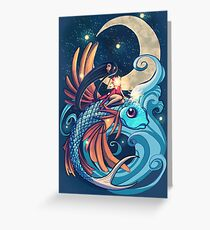 Festival of the Flying Fish Greeting Card