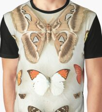 Butterflies and Moths Graphic T-Shirt