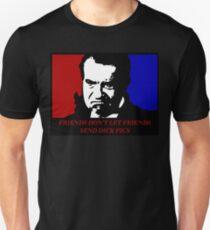 Richard Nixon Friends Don't Let Friends Send Dick Pics Unisex T-Shirt
