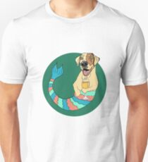 Monday the Yellow Lab Mermutt Unisex T-Shirt