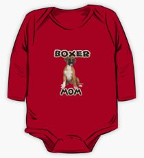 Boxer Dog Mom Mother Kids Clothes