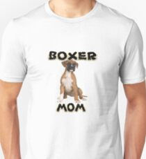 Boxer Dog Mom Mother T-Shirt