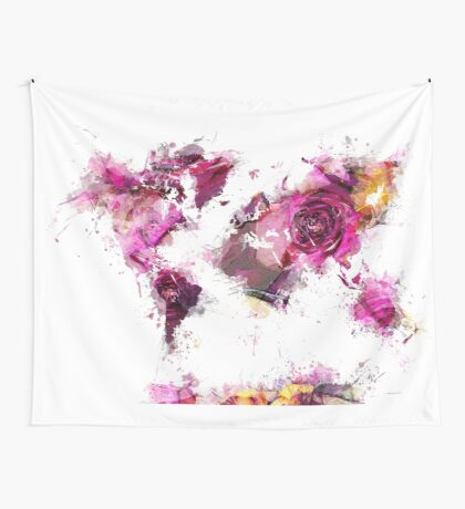 World Map 2044 Wall Tapestry
