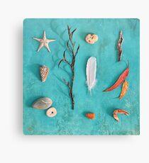 Sea, Land & Sky Canvas Print