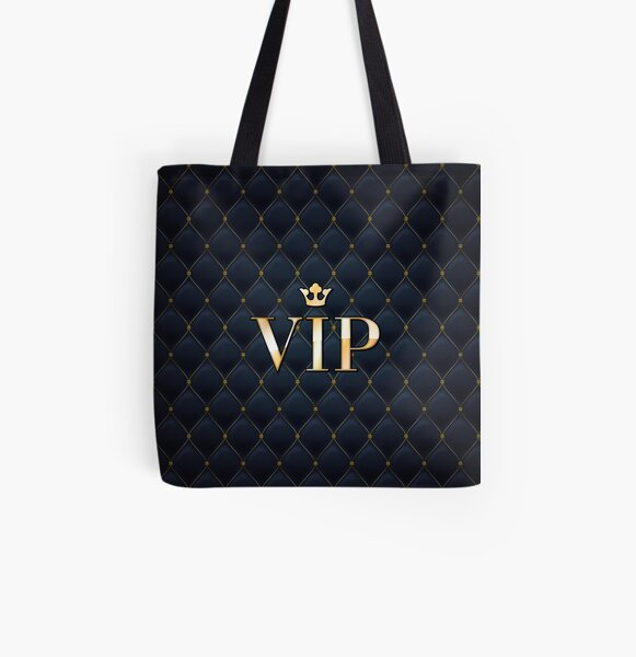VIP abstract quilted background All Over Print Tote Bag