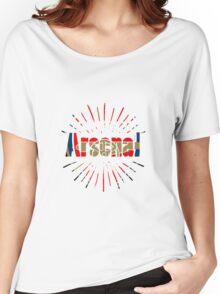 arsenal art Women's Relaxed Fit T-Shirt