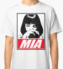 Pulp Fiction Mia Wallace Classic T-Shirt