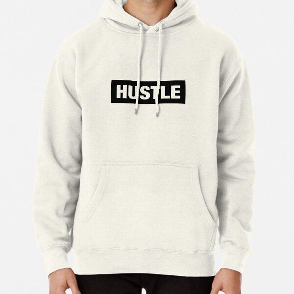 Hustle Dark Box Pullover Hoodie
