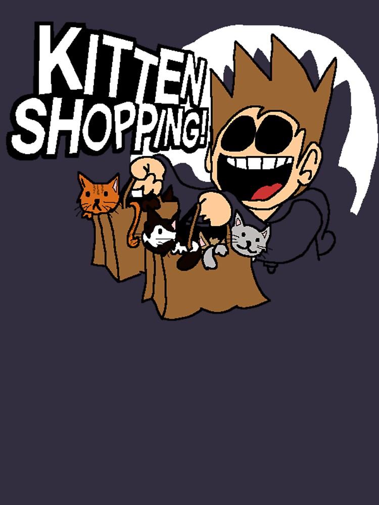 EDDSWORLD KITTEN SHOPPING | Unisex T-Shirt