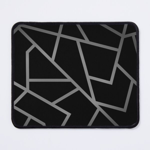 Black and Moonstone Mouse Pad