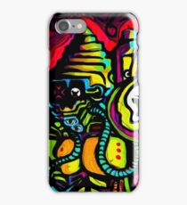 Android 7  / mecha robot iPhone Case/Skin