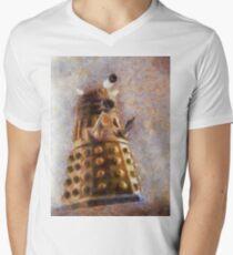 Dalek Flies! Mens V-Neck T-Shirt