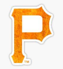 °BASEBALL° Pittsburgh Pirates Rust Logo Sticker