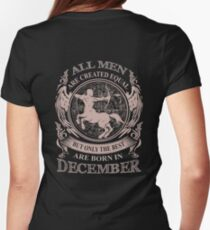 All men are created equal but only the best are born in December T-Shirt