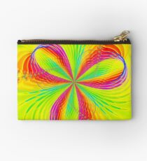 Colorful Flower Ribbons Studio Pouch