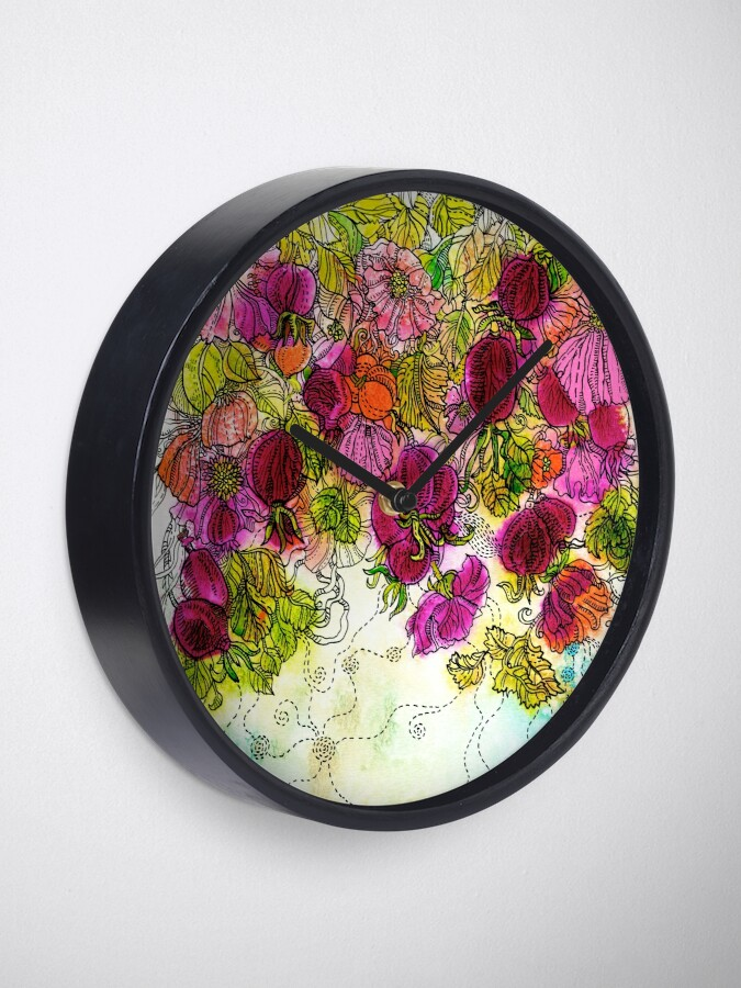 Alternate view of Dog-Rose. Autumn. Clock