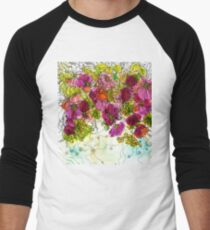Dog-Rose. Autumn. Baseball ¾ Sleeve T-Shirt