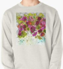 Dog-Rose. Autumn. Pullover Sweatshirt
