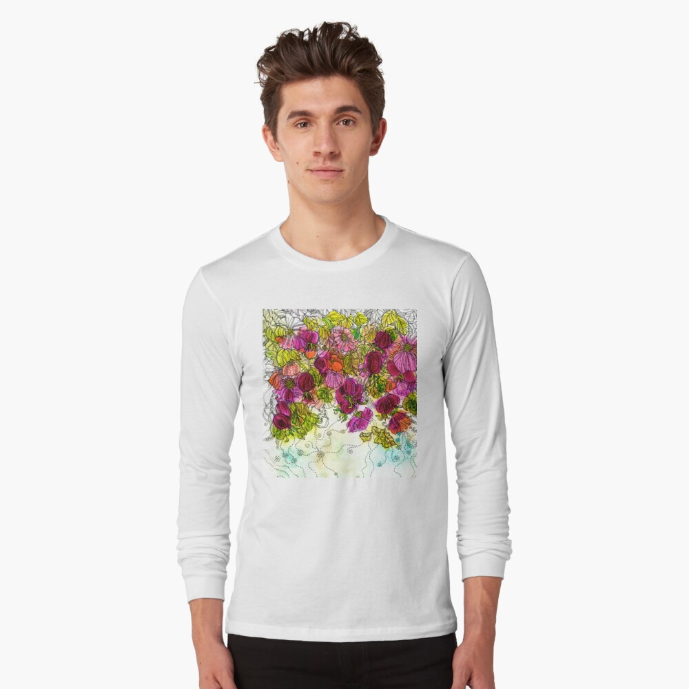 Dog-Rose. Autumn. Long Sleeve T-Shirt
