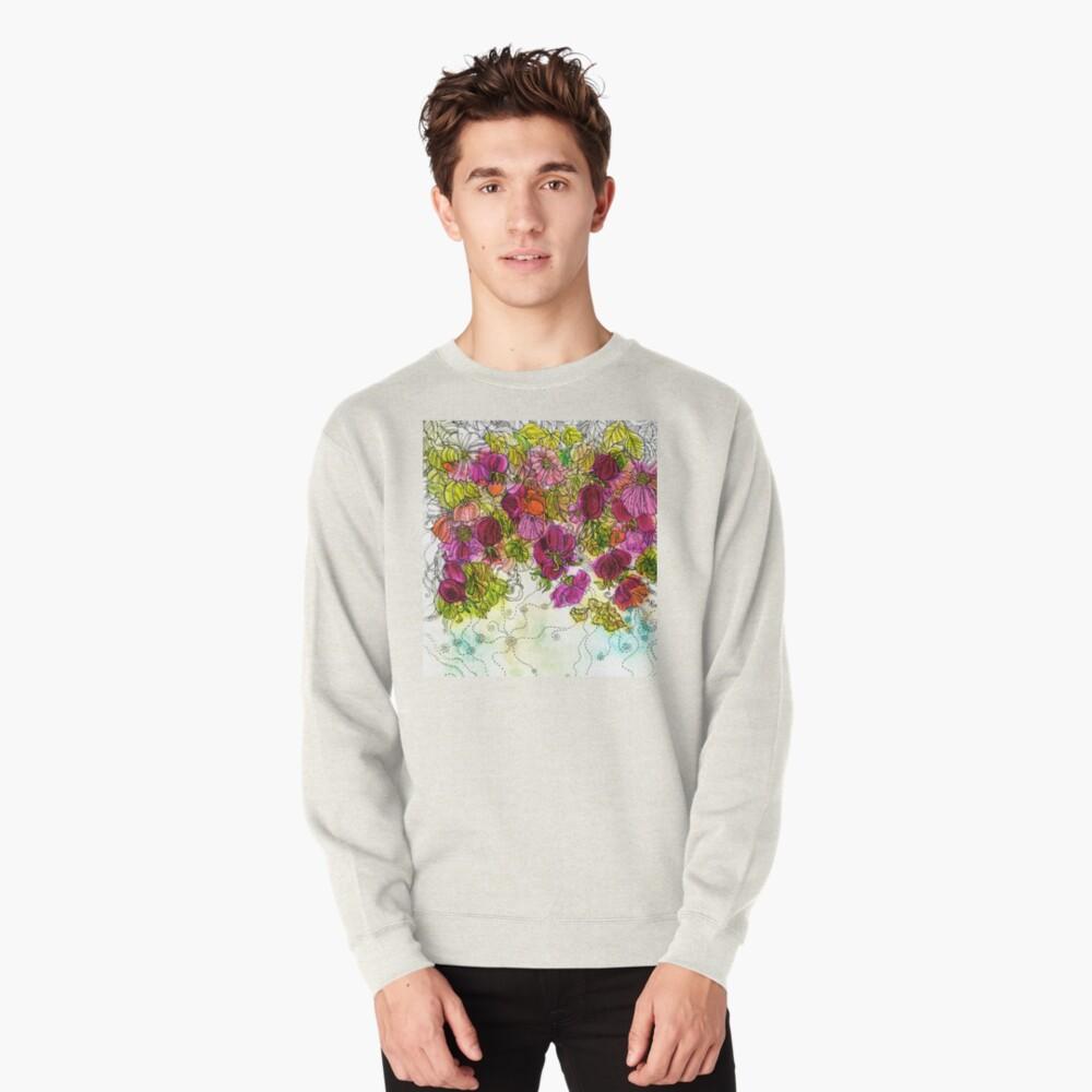 Dog-Rose. Autumn. Pullover Sweatshirt