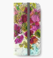 Dog-Rose. Autumn. iPhone Wallet/Case/Skin