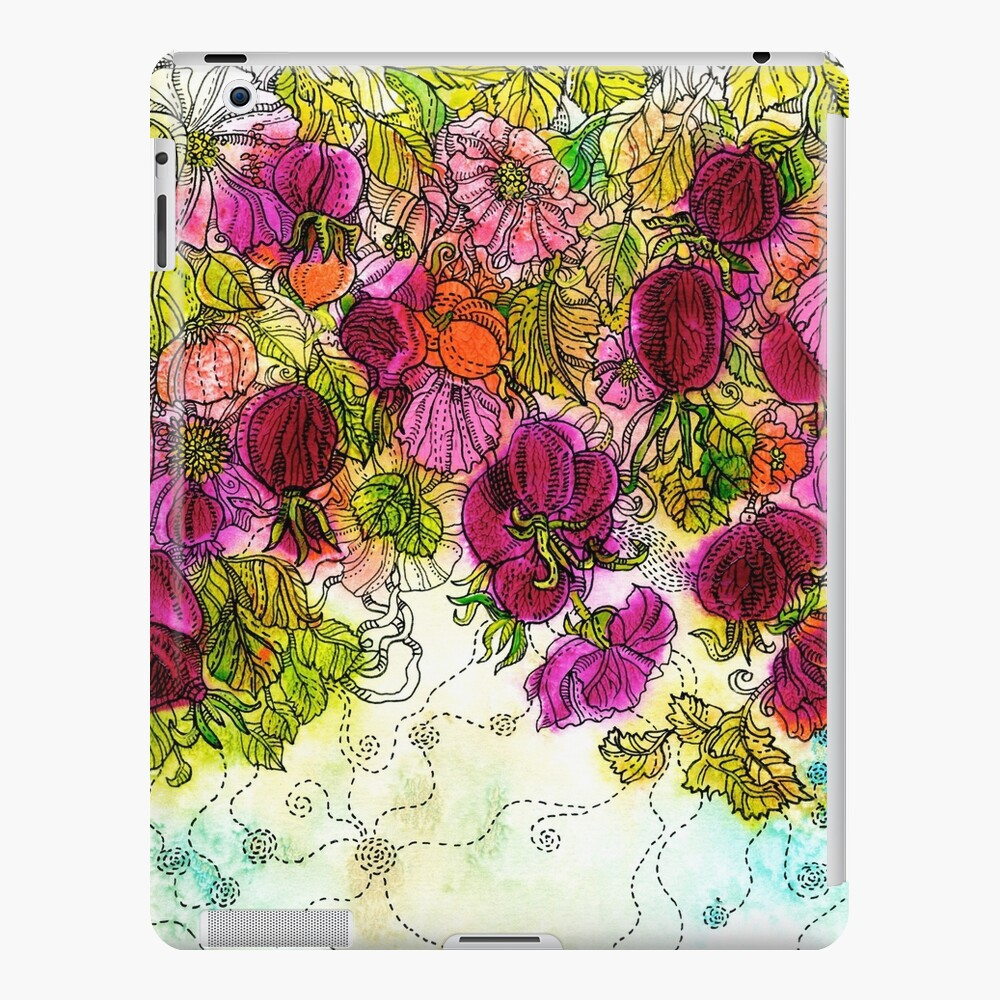 Dog-Rose. Autumn. iPad Case & Skin