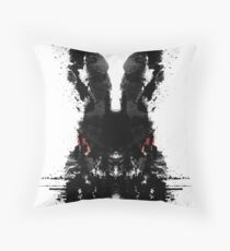 The Black Rabbit Throw Pillow