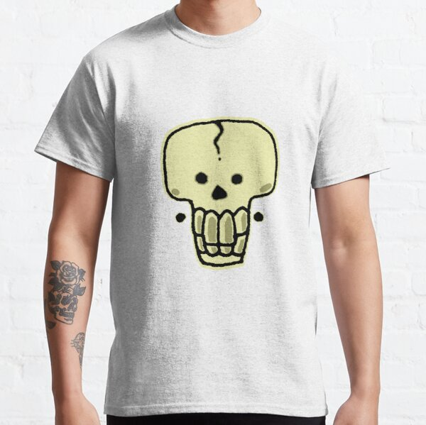 A Skull with earrings Classic T-Shirt