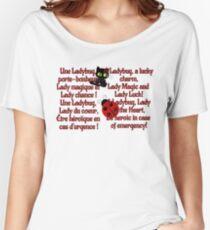 Miraculous Ladybug Lyrics Women's Relaxed Fit T-Shirt