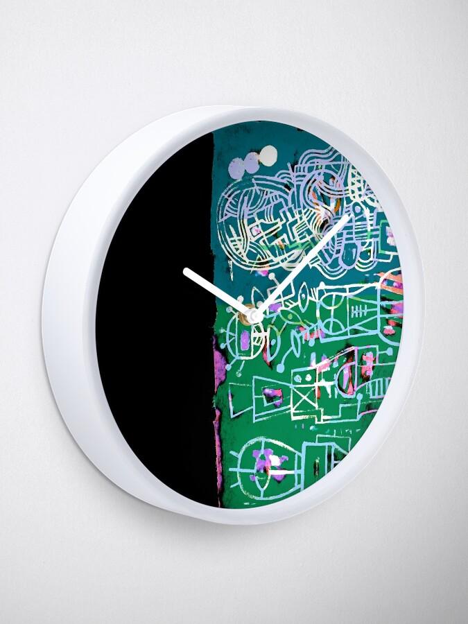 Alternate view of Psychedelik Wochenende Clock