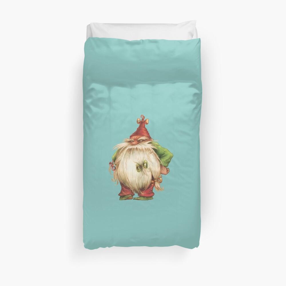 Grumpy Gnome Duvet Cover