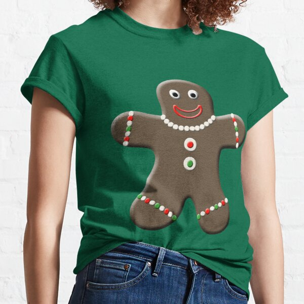 Cute Gingerbread Man Classic T-Shirt