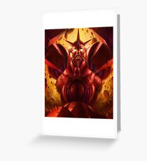 Monstar Greeting Card