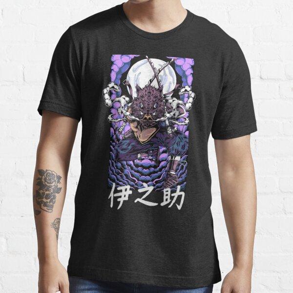 Inosuke Dämonentöter Wildschwein Kimetsu no Yaiba Essential T-Shirt