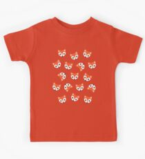 Little Red Foxes - blush Kids Tee