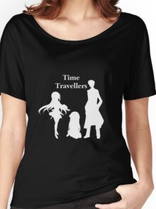 Time Travellers (White Edition) Women's Relaxed Fit T-Shirt