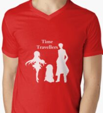 Time Travellers (White Edition) Mens V-Neck T-Shirt