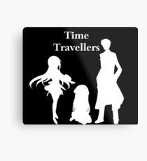 Time Travellers (White Edition) Metal Print