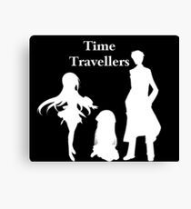 Time Travellers (White Edition) Canvas Print